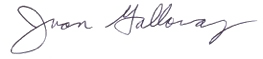 Juan Galloway signature